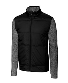 Cutter and Buck Men's Big and Tall Stealth Full Zip Jacket