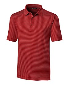 Cutter and Buck Men's Big and Tall Forge Pencil Stripe Polo