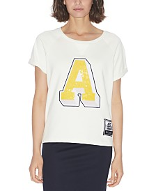 Armani Exchange Cotton French Terry Tee