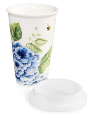 Dinnerware, Butterfly Meadow Blue Thermal Travel Mug