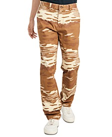 Men's Custom-Fit Stretch Jason Camouflage Chinos, Created for Macy's