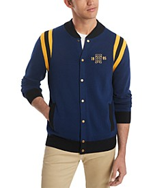 Men's Brandon Baseball Sweater, Created for Macy's