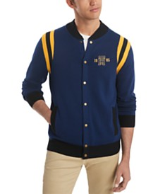 Tommy Hilfiger Men's Brandon Baseball Sweater, Created for Macy's