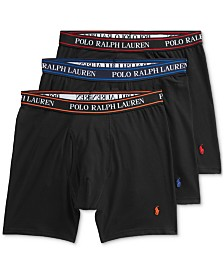 Polo Ralph Lauren Men's 3-Pk. Classic Stretch Boxer Briefs