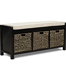 Griffin Storage Bench, Quick Ship