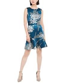 N Natori Chrysanthemum Shift Dress