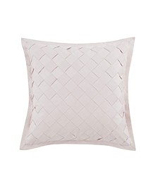 Riva Square Basketweave Decorative Pillow