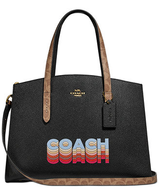 Charlie Carryall In Signature Canvas Blocking By Tyler Spangler Created For Macy's by General