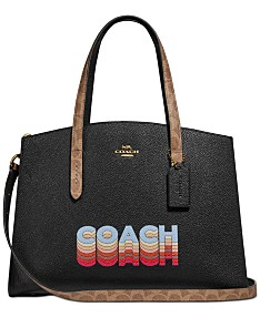 5103eea41195c COACH Charlie Carryall In Signature Canvas Blocking By Tyler Spangler  Created For Macy's
