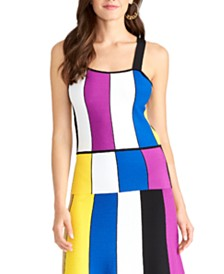 RACHEL Rachel Roy Juniors' Square-Neck Tank Top