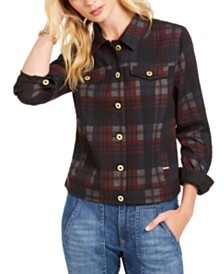Tommy Hilfiger Plaid Trucker Jacket