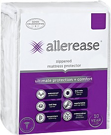 AllerEase Ultimate Protection Temperature Balancing Waterproof Full Mattress Protector
