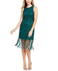Beaded Short Dress