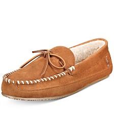 Polo Ralph Lauren Men's Faux-Suede Slippers