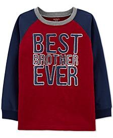 Little & Big Boys Brother-Print Cotton T-Shirt