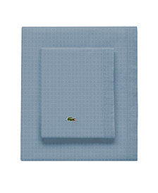 Lacoste Rings Pomegranate King Pillowcase Pair
