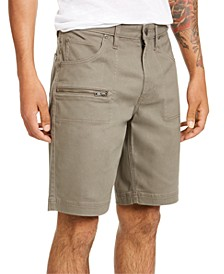 INC Men's Ollie Zipper Shorts, Created for Macy's