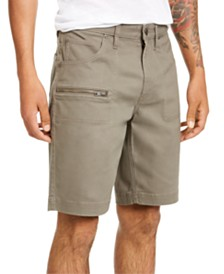 I.N.C. Men's Ollie Zipper Shorts, Created for Macy's