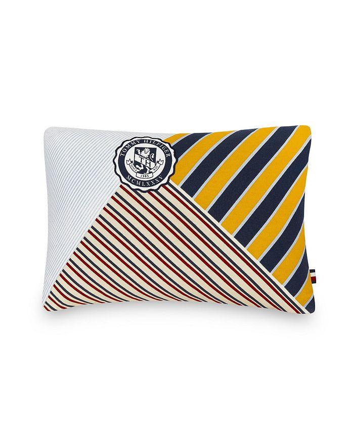 "Tommy Hilfiger - University 12"" X 18"" Decorative Pillow"