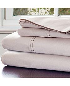 Baldwin Home Cotton Rich Sateen 4 Piece King Sheet Set