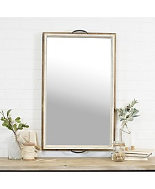 "VIP Home & Garden Antique 33"" Wood Mirror"