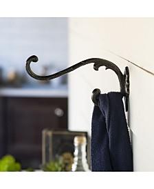 VIP Home & Garden Metal Double Hook