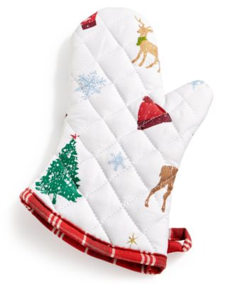 Holiday Oven Mitt, Created For Macy's