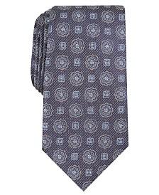 Tasso Elba Men's Classic Medallion Tie, Created for Macy's
