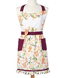 Martha Stewart Collection Harvest Apron, Created For Macy's