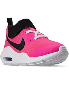 Little Girls' Oketo Air Max Casual Sneakers from Finish Line