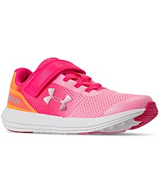 Under Armour Little Girls' Surge AC Running Sneakers from Finish Line