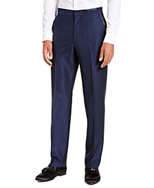 Men's Classic-Fit Blue Diamond Suit Separate Pants
