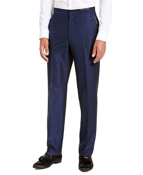 Sean John Men's Classic-Fit Blue Diamond Suit Separate Pants
