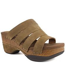 White Mountain Montana Strappy Platform Sandals