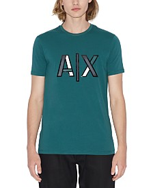 A|X Armani Exchange Men's Slim-Fit Colorblocked Logo T-Shirt
