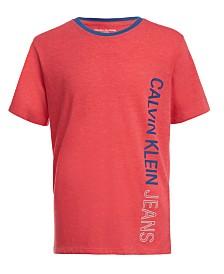 Calvin Klein Jeans Big Boys Side Logo T-Shirt