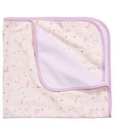 Baby Girls Cotton Unicorn Blanket, Created for Macy's