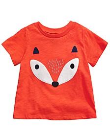Toddler Boys Fleece Fox T-Shirt, Created For Macy's