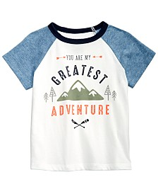 First Impressions Baby Boys Adventure-Print Cotton T-Shirt, Created for Macy's