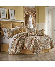 Five Queens Court August Queen 4 Piece Comforter Set