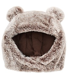 First Impressions Baby Boys & Girls Faux Fur Animal Ear Hat, Created for Macy's