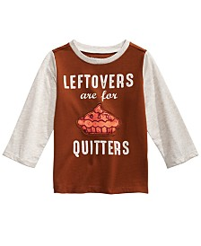 First Impressions Baby Boys Colorblocked Leftovers T-Shirt, Created for Macy's