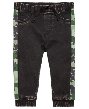 First Impressions Baby Boys Camo-Stripe Jeans, Created for Macy's