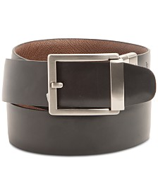 Alfani Men's Custom Fit Reversible Belt, Created for Macy's