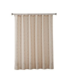 Ltd Linen Space Dye Shower Curtain