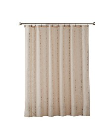Saturday Knight Ltd Linen Space Dye Shower Curtain
