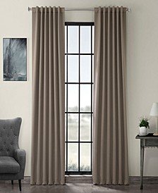 "Exclusive Fabrics Furnishings Blackout Curtain 108"" x 50"" Curtain Panel"