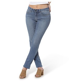 Lola Jeans Mid Rise Straight Jeans