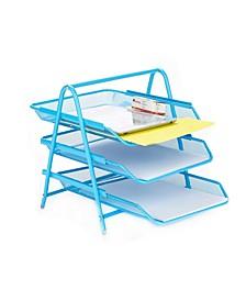 3 Tier Paper Tray Desk Organizer