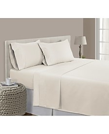 Addy Home 100% Long Staple Pima Cotton 3-piece Sheet Set, Twin